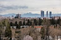 Vista desde Moratalaz