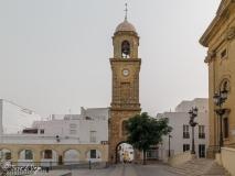 Conocida como Arquillo del reloj. S. XVIII, construida en piedra ostionera