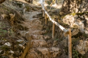 ¿Escaleras naturales?