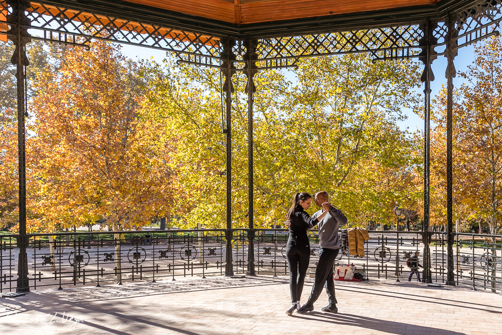 Tango en el Parque del Retiro