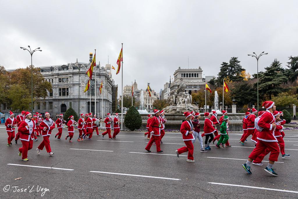 La carrera de Papá Noel