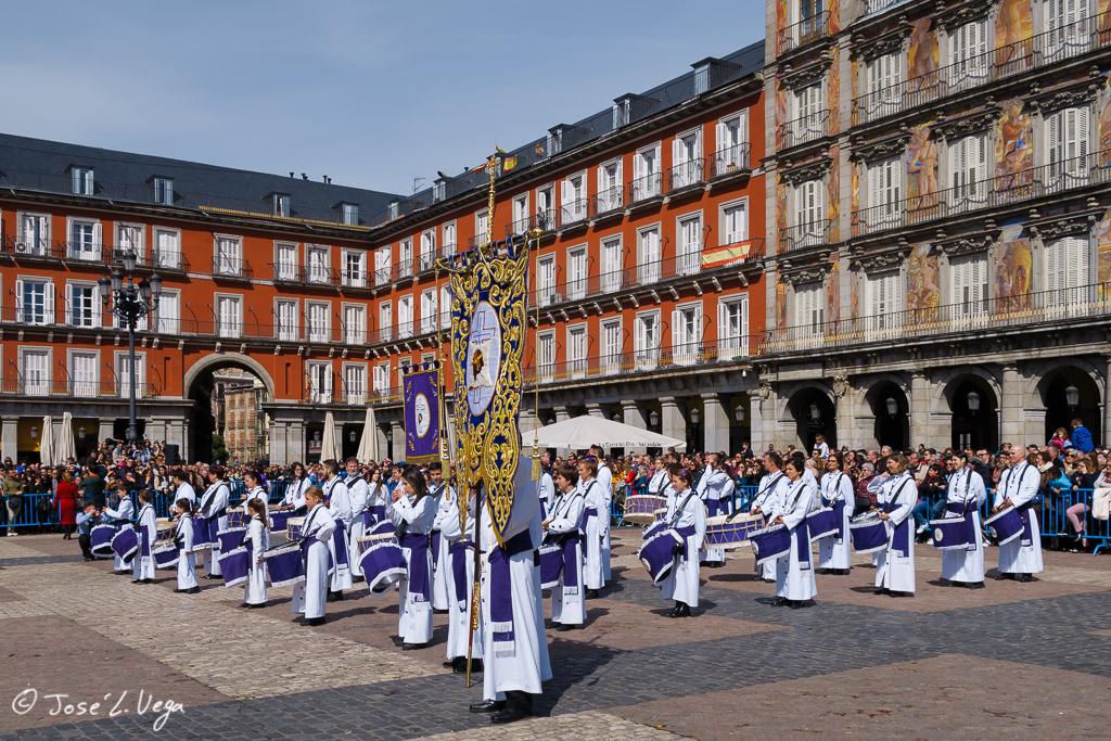 Tamborrada en Madrid