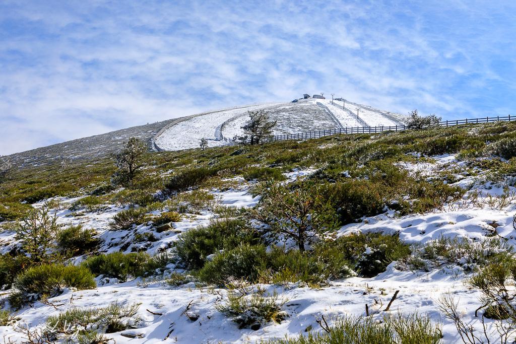 Nieve en Navacerrada